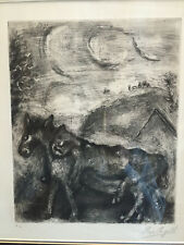 Marc Chagall Etching signed and numbered edition of 40.Martin Lawrence Gallery