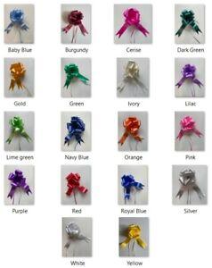 Pull Bows 50/30 mm Ribbon Wedding Gift Flower Birthday Decoration