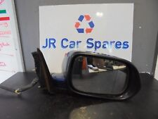 03-08 HONDA ACCORD O/S DRIVERS SIDE ELECTRIC HEATED WING MIRROR BLUE INDICATOR