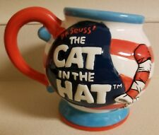 Official Movie Dr Seuss Cat The Hat Collectors Mug Cup character fish coffee red