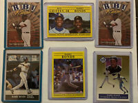Barry Bonds - Lot of 6 Cards MLB San Francisco Giants & Pittsburgh Pirates