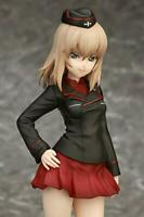 Girls und Panzer Itsumi Erika 1/7 PVC Figure 22cm quesQ Anime from JAPAN