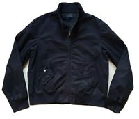PAUL SMITH HARRINGTON BOMBER JACKET BLACK  COTTON BLEND SIZE L (44) RRP £260