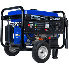 DuroMax 4400 Watt Portable Electric Gas Power RV Generator - XP4400E