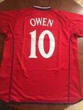 Owen 10. England Away football shirt 2002 - 2004. Umbro jersey camiseta
