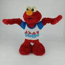"2003 Elmo Sing & Dance E.L.M.O. ""YMCA"" Cheerleader Mattel Sesame Street Working"