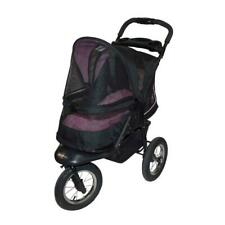 Pet Gear No-Zip Nv Pet Stroller, Zipperless Entry, Rose