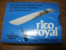 10 x Rico Royal 1,5  Tenor-Saxofon Blätter Sax Saxophone Reeds USA ovp !