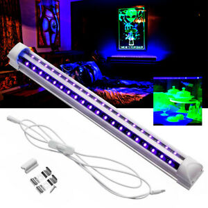 40 LEDs 5V 10W UV Ultraviolet Strip Tube Light Bar USB Partys Light Blacklight #