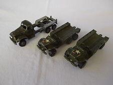 Epaves France Jouets - 2 Dodge et 1 GMC