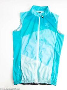 Verge Sport Flight Vest Cycling Women Sleeveless Wind Pocket Aqua
