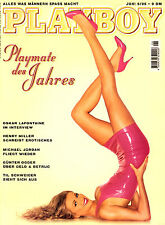 PLAYBOY Juni 1995; Michael Jordan, Oskar Lafontaine; Eveline Poyss; Bob Dylan