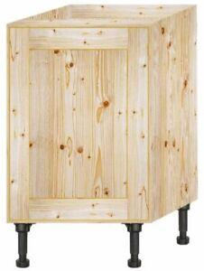Handmade Bespoke made to measure solid Pine Kitchen unit 600 mm 1 Door Ref 1