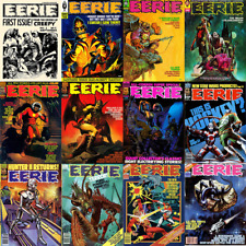 Eerie Comics Magazine 144 Issues Complete Collection in Pdf Form on 2 Dvds