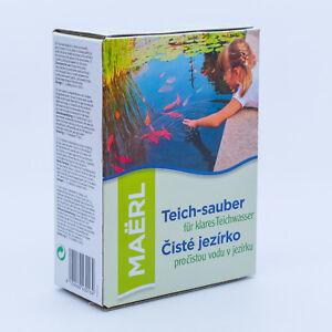 Maërl Teichreiniger Teichklärer für klares Teichwasser, Ozeankalk, Teich sauber