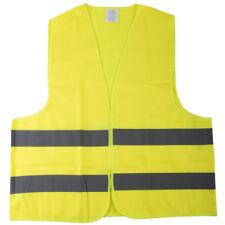 Hi Vis Yellow High Viz Visibility Waistcoat Safety Vest Jacket Motorway EN471 XL