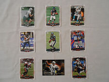 9 Football Trading Cards: 2014 Topps NFL.Com Fantasy Cards/Original/Collectible