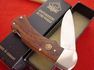 """Puma Made in Germany 4-1/8"""" 4 STAR 1986 Lockback Lock Blade Knife MINT IN BOX"""