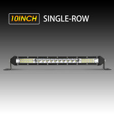 100W 10inch Single Row super Slim LED Work Light Bar for Car Off road Truck