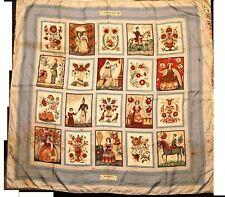 foulard HERMES - IMAGERIE - quelques taches voir photos