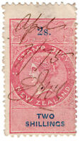 (I.B) New Zealand Revenue : Stamp Duty 2/-