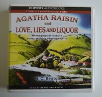 Agatha Raisin and Love, Lies and Liquor - M.C. Beaton - Audiobook - 6CDs