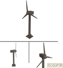 N Gauge Model Railway Scenery Building Kit - Windmill / Wind Turbine / Generator