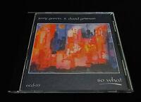 Jerry Garcia David Grisman So What CD Miles Davis Jazz M. Jackson Grateful Dead