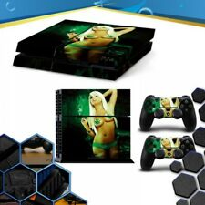 Vinile Blonde Playstation 4 Ps4 Skin Sticker Decal Console + Controllers