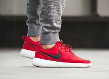 NIKE ROSHE 2 Zapatillas Zapatos Correr Gimnasio TWO Casual-UK 9.5 (EUR 44.5) Gimnasio Rojo