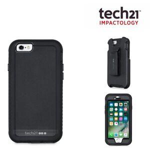 Tech21 iPhone 6 6s Case Evo Tactical XT Tough Rugged Cover Flexshock - Black