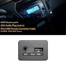 OEM USB Reader iPod AUX Port Adapter for HYUNDAI-2005 2006 2007 2008 2009 Tucson