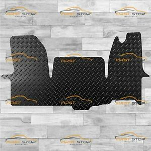 Iveco Daily 2014-On Tailored Extra Heavy Duty 5mm Rubber Van Floor Mats Black