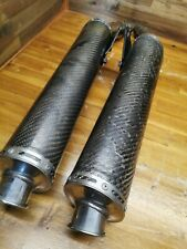 DUCATI 2000 MONSTER S4 916 Carbon Fibre Exhaust Pipes Termignoni Race Racing