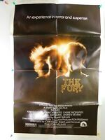 """Vintage Original THE FURY (1978) Movie Poster - 27"""" x 41"""" - Folded Style A"""