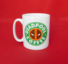Marvel Deadpool inspirado Taza de Café 10oz X-men Vengadores Starbucks