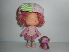 Vintage Strawberry Shortcake Raspberry Tart with Rhubarb Doll Figure 1979