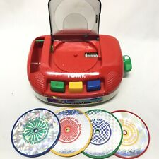 Vintage 1992 Tomy Bring Along A Song Wind-Up Music Player Toy
