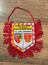 Official Lens Mini Pennant: V Arsenal 1999/2000 UEFA Cup Semi Final