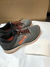 Brooks Revel 2 1102921D091 Running Shoe-Men's Size 9.5 D,Gray/Black/Orange