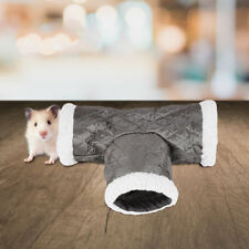 3 Way Hamster Tunnel Tube Rabbit Ferret Guinea Pig Small Animal Exercise Toy