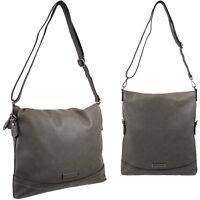 ESPRIT Damen Tasche Handtasche Schultertasche Umhängetasche Taupe Grau Grey Bag