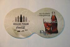 Doppio coperchio sottobicchieri da Coca-Cola POLONIA POLSKA ~ MIX IT UP rozkreca impreze