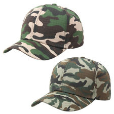 Men Women Baseball Cap Military Army Camo Hat Trucker Camouflage Snapback LJ