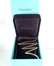 Tiffany 18K YG Paloma Picasso XL Scribble Pin Brooch 23.1 gms –Tiffany Boxes