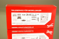 Herpa 083935 Fahrerhaus MAN TGX XL Euro 6 mit WLB & Dachspoiler Inhalt: 2 Stück