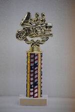 "10"" Touring Motorcycle Trophy Award - Free engraving & Shipping"