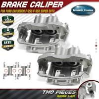 2x Brake Caliper w/ Bracket for Ford Excursion F-250 F-350 Super Duty Rear LH&RH