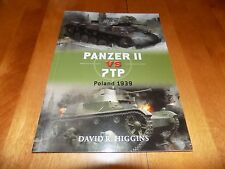 PANZER II VS 7TP POLAND 1939 Osprey Duel WWII Tank Armor Panzers Tanks Book NEW