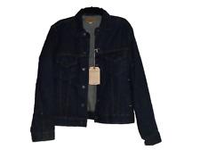 NEU Ralph Lauren Jeans & Versorgung dunkelblau Trucker Jacke Sz groß L